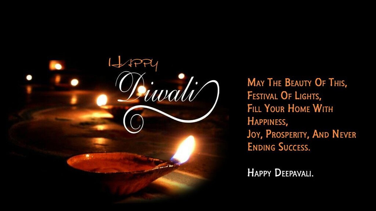 Happy Diwali SMS In English