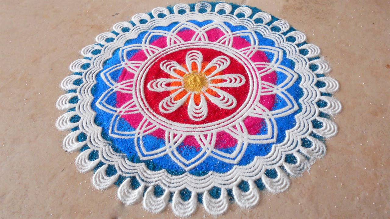 Diwali Best picture Rangoli