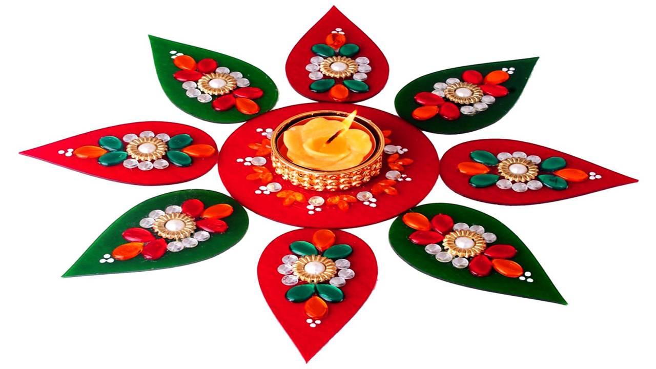 Diwali Picture Rangoli