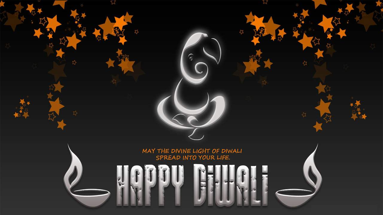 Diwali Plain Background