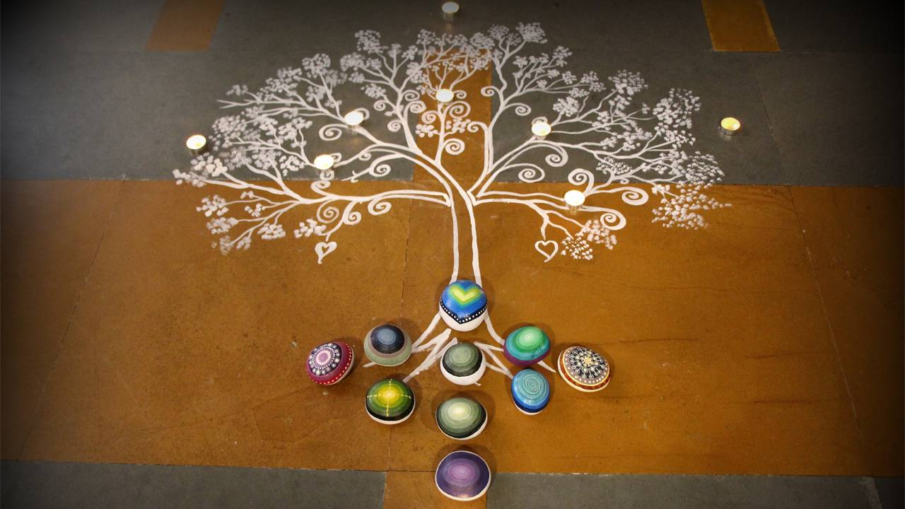 Diwali Rangoli Design HD Wallpaper