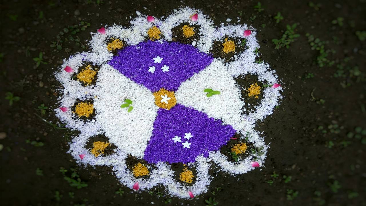 Diwali Rangoli Photo Gallery
