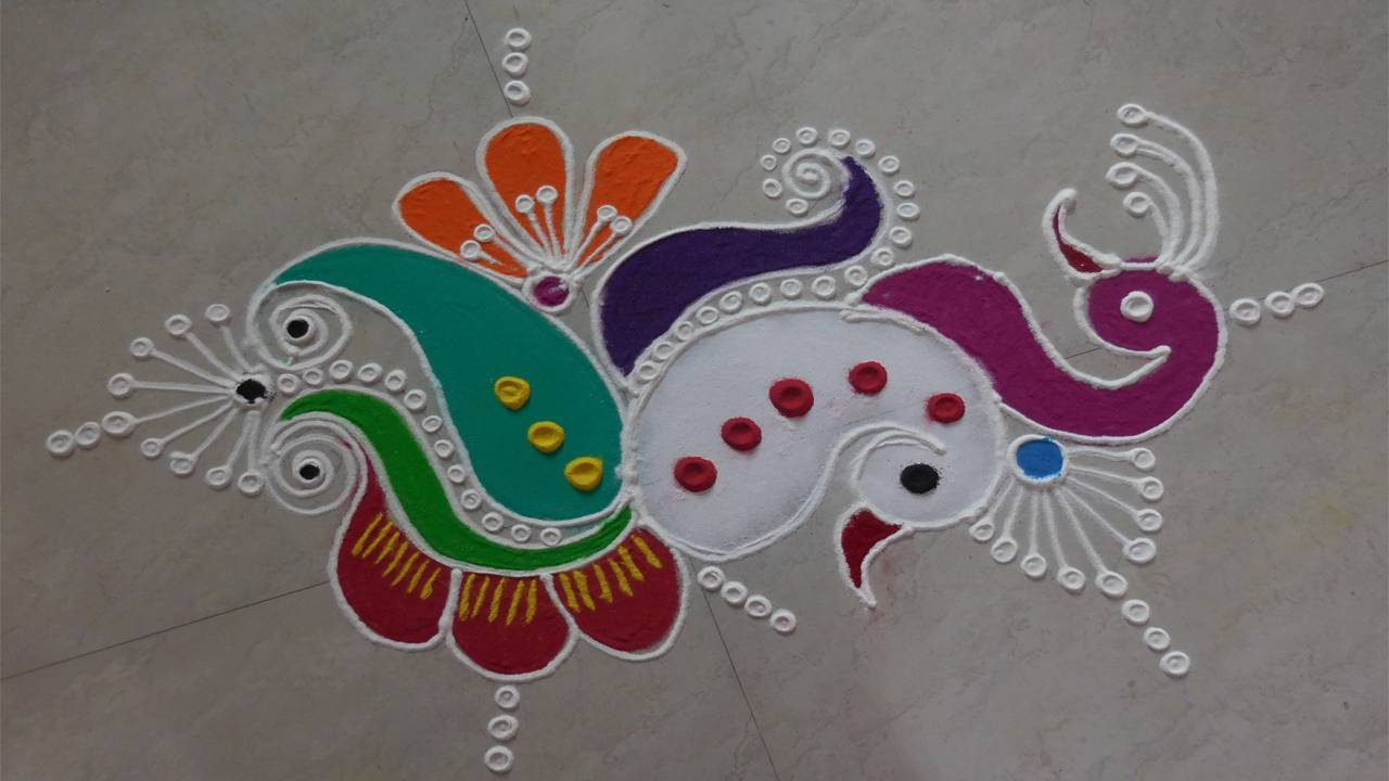 Diwali Rangoli Wallpaper Free download
