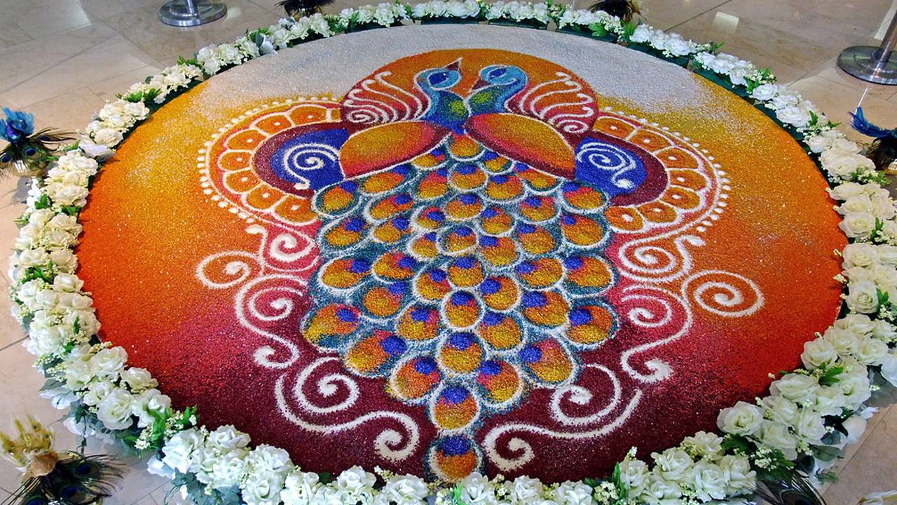 Diwali Rangoli Wallpaper HD
