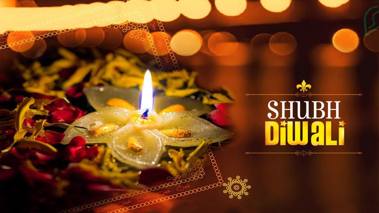 Diwali Sky lamp Images
