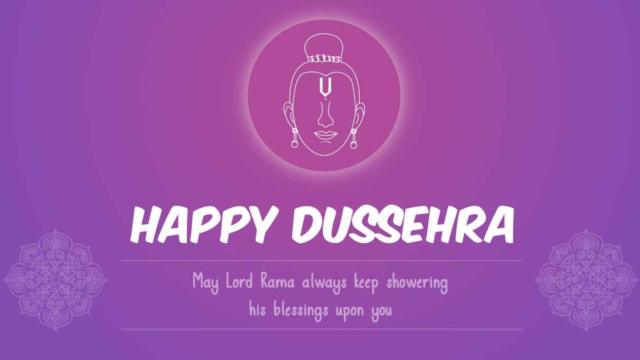 Dussehra Greetings SMS