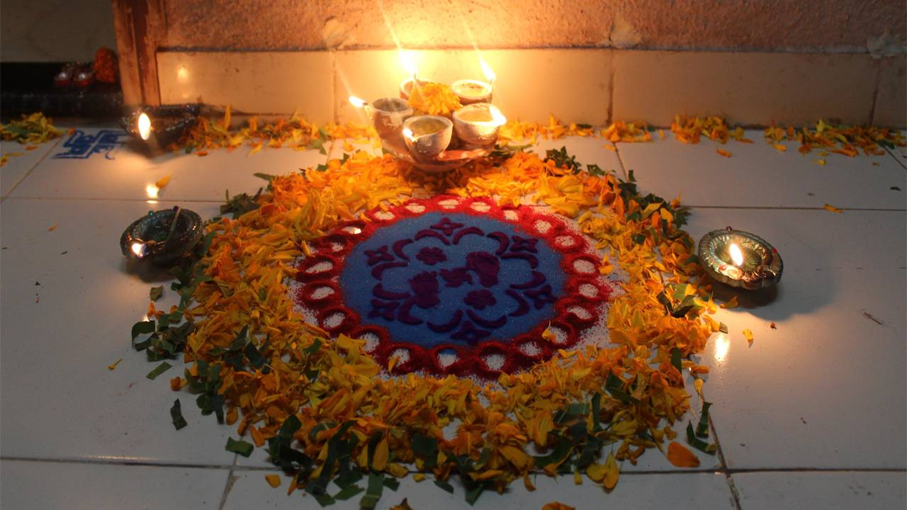 Images of Diwali Rangoli