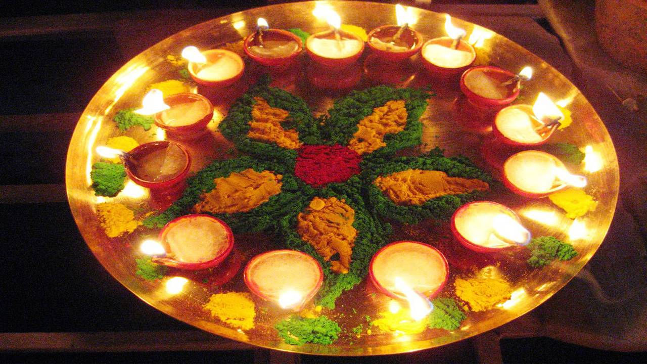 Images of Easy Rangoli For Diwali