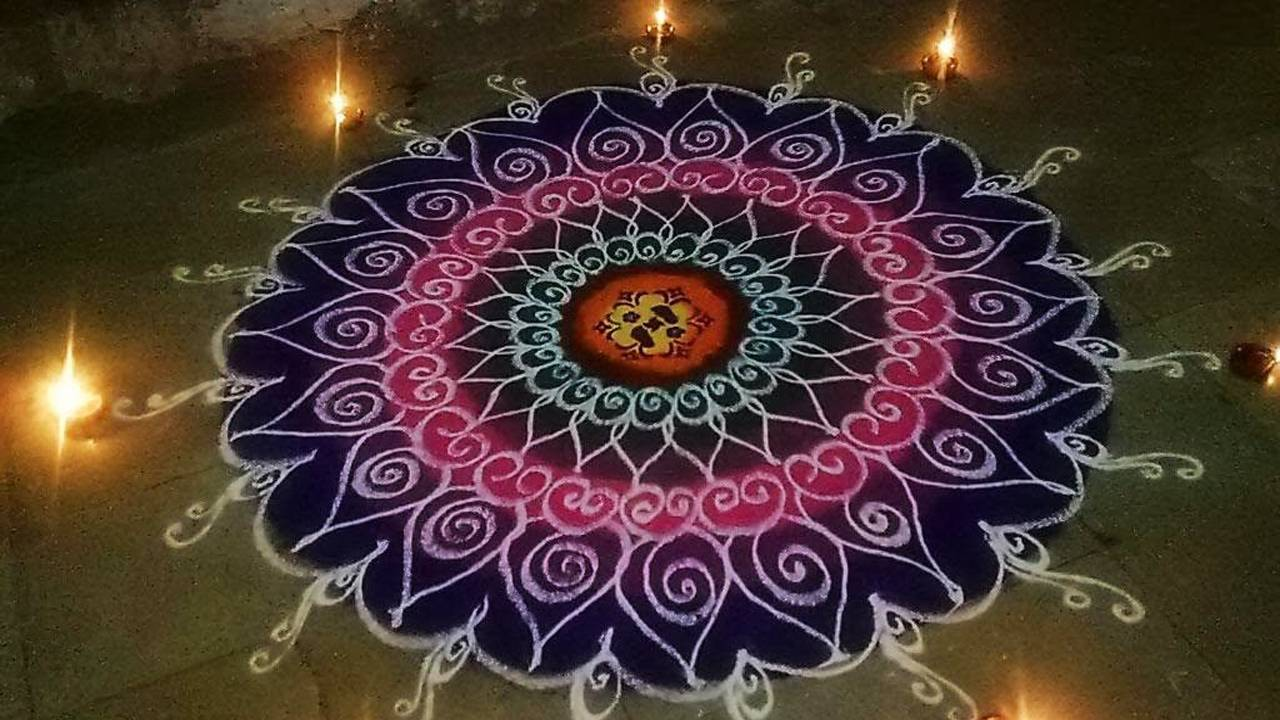 Images of Rangoli for Diwali