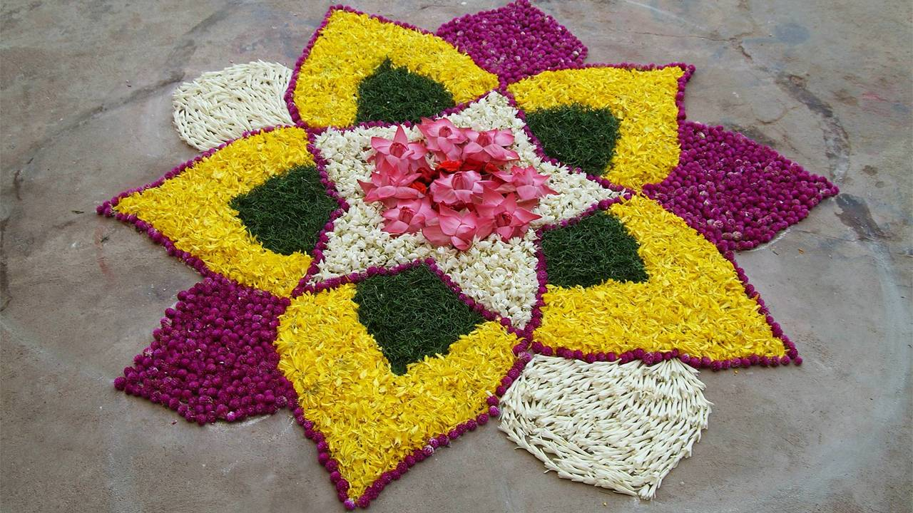 Photo of Rangoli In Diwali