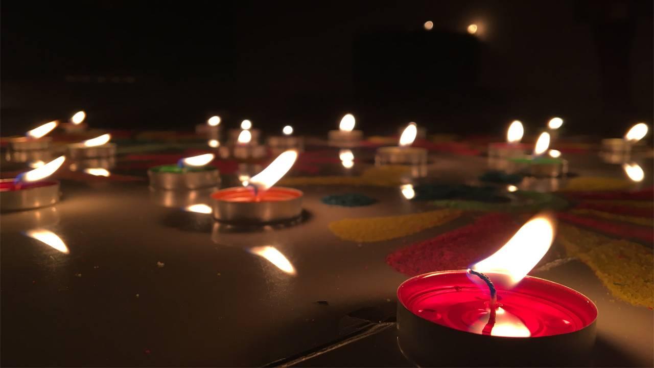 Pics of Diwali Rangoli