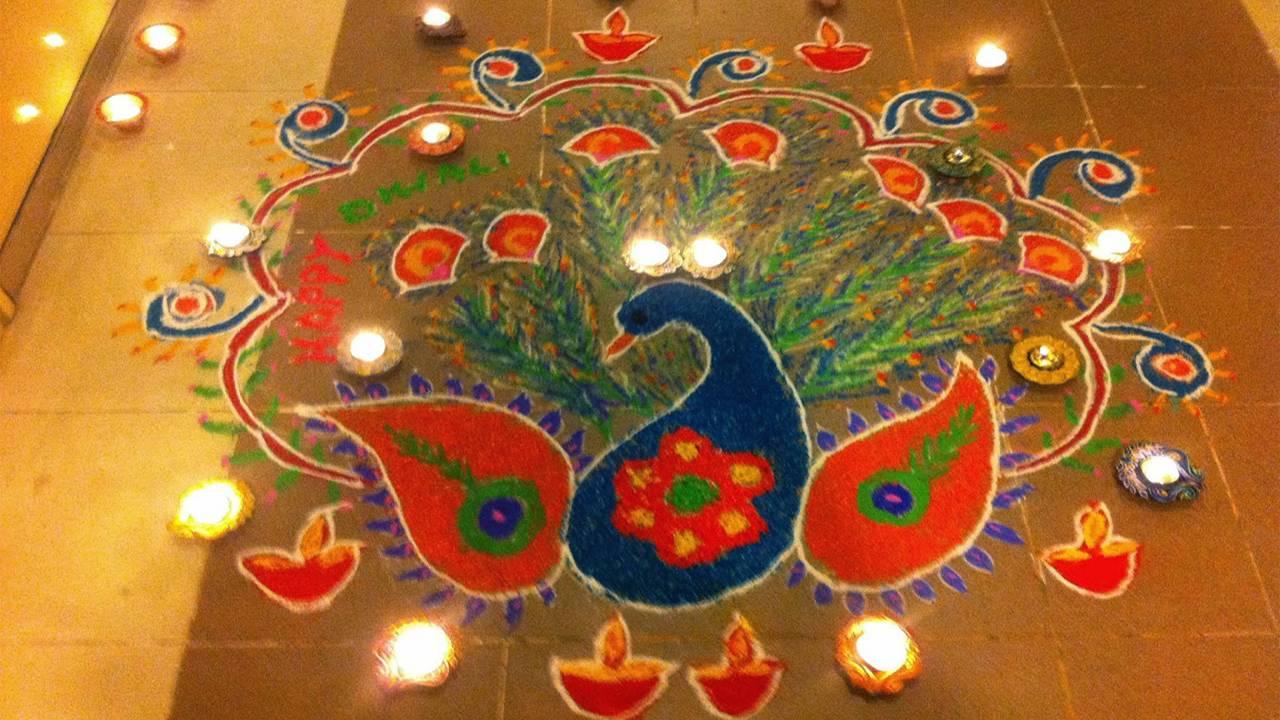 Pics of Rangoli Diwali