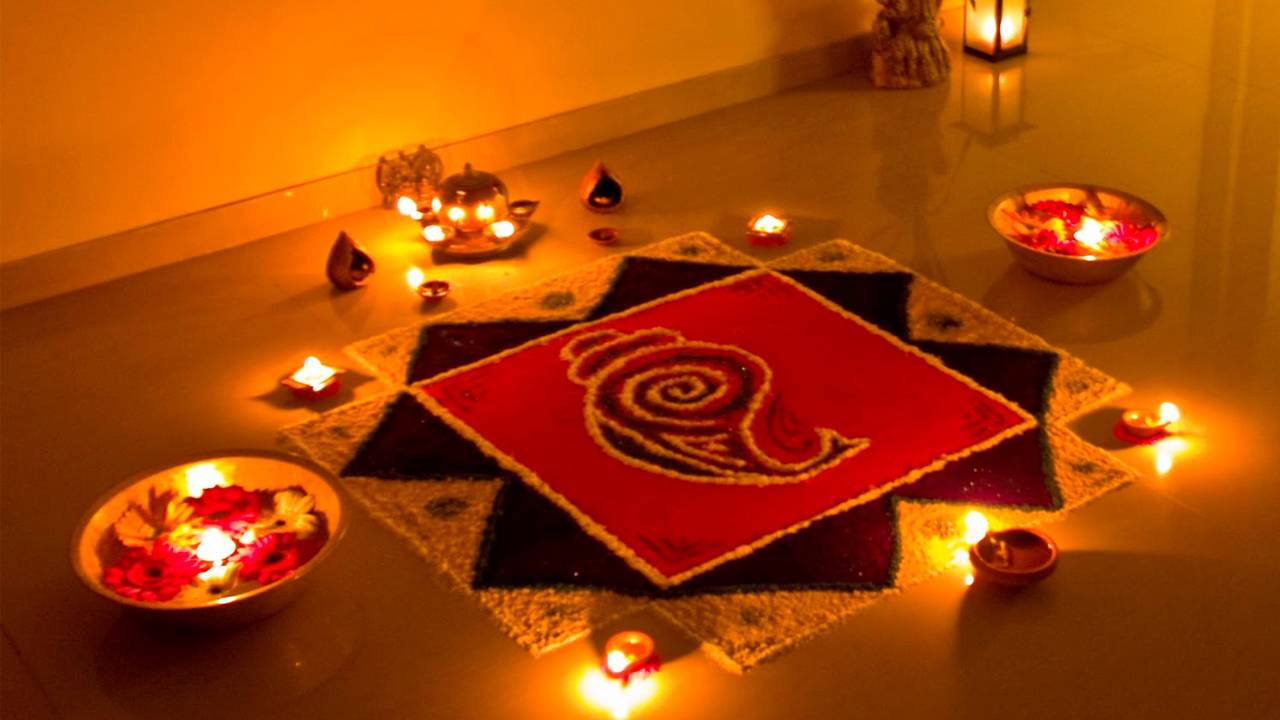 Rangoli Photo Diwali