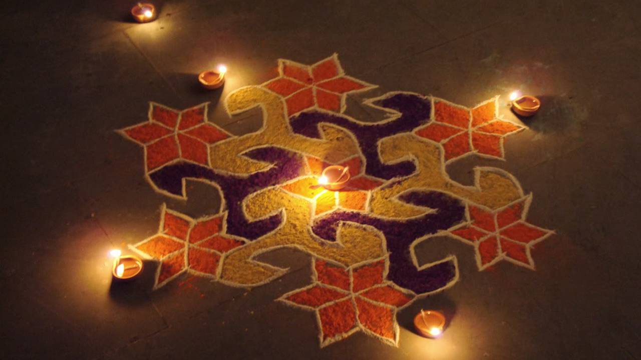 Rangoli Design Images For Diwali