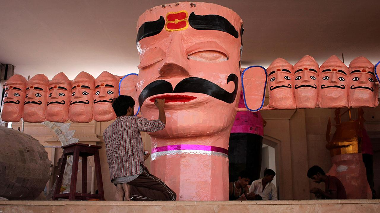 Dussehra Pictures for Drawing