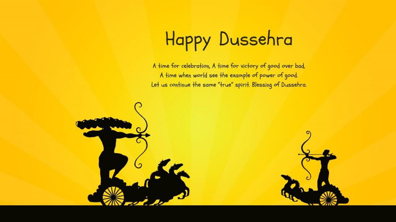 Photos of Happy Dussehra