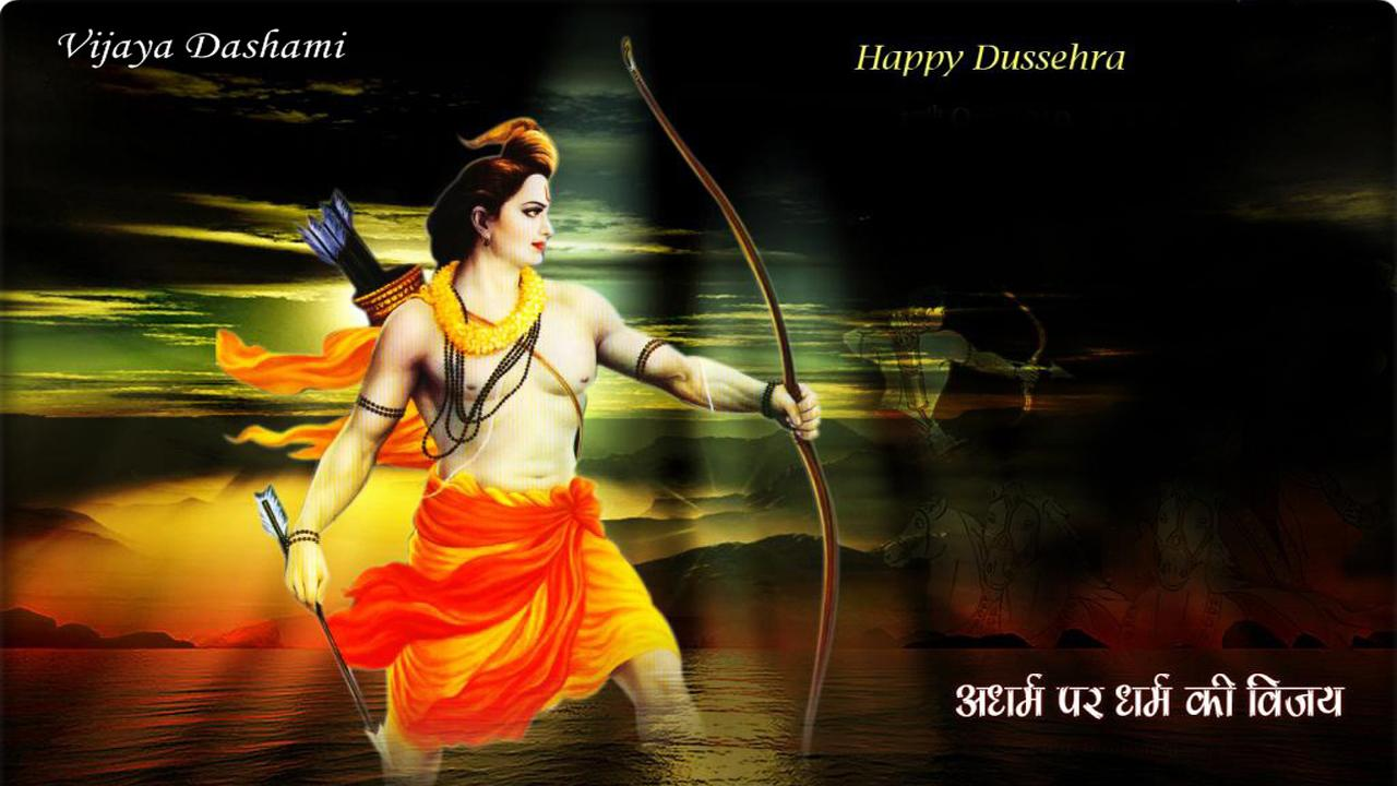 Pictures on Dussehra