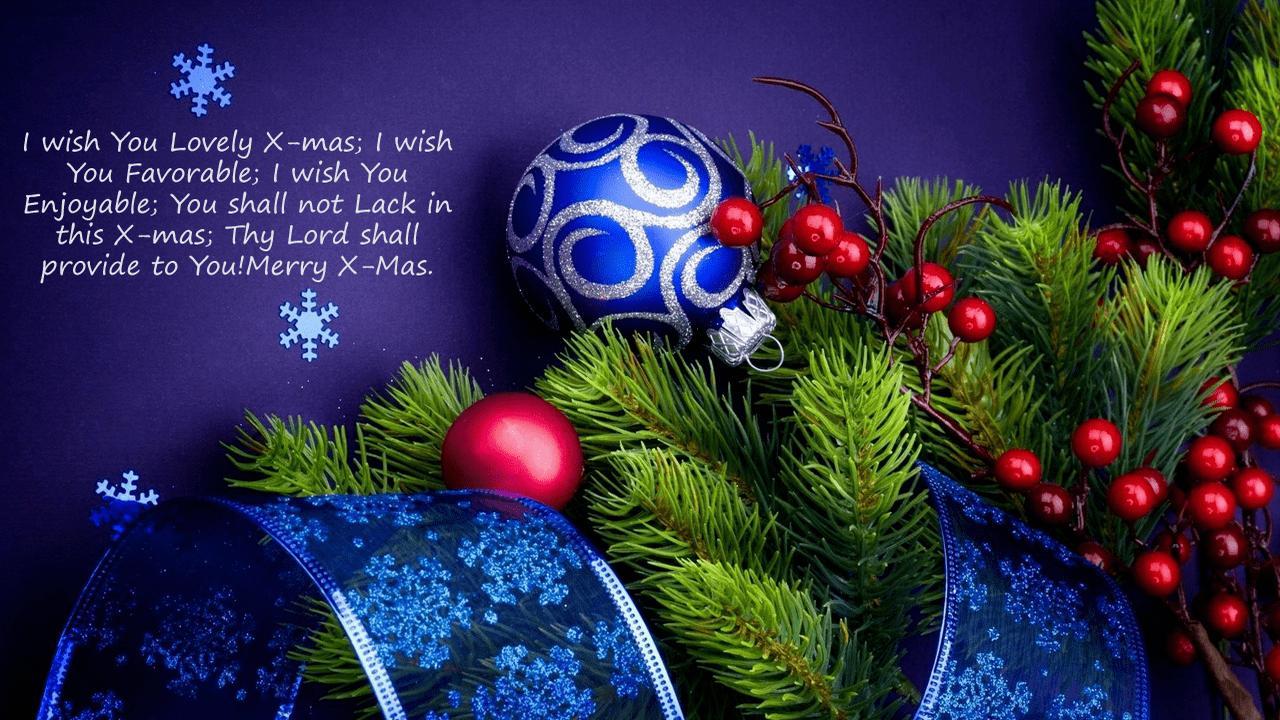 Christmas Greetings For Boyfriend