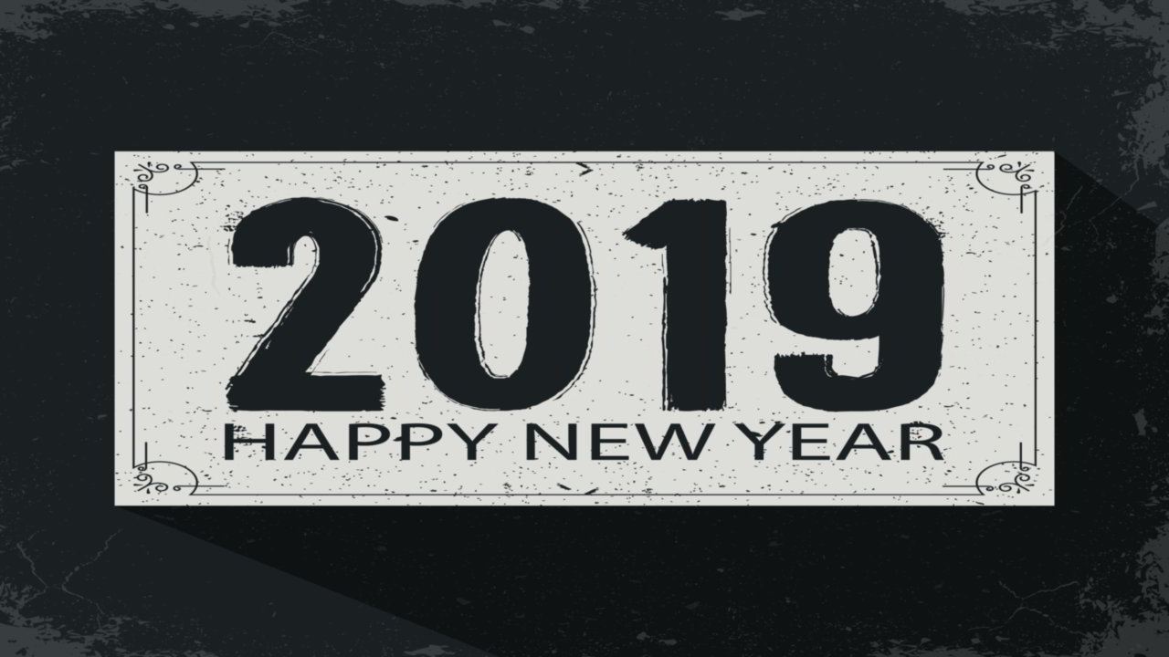 Greeting New Year
