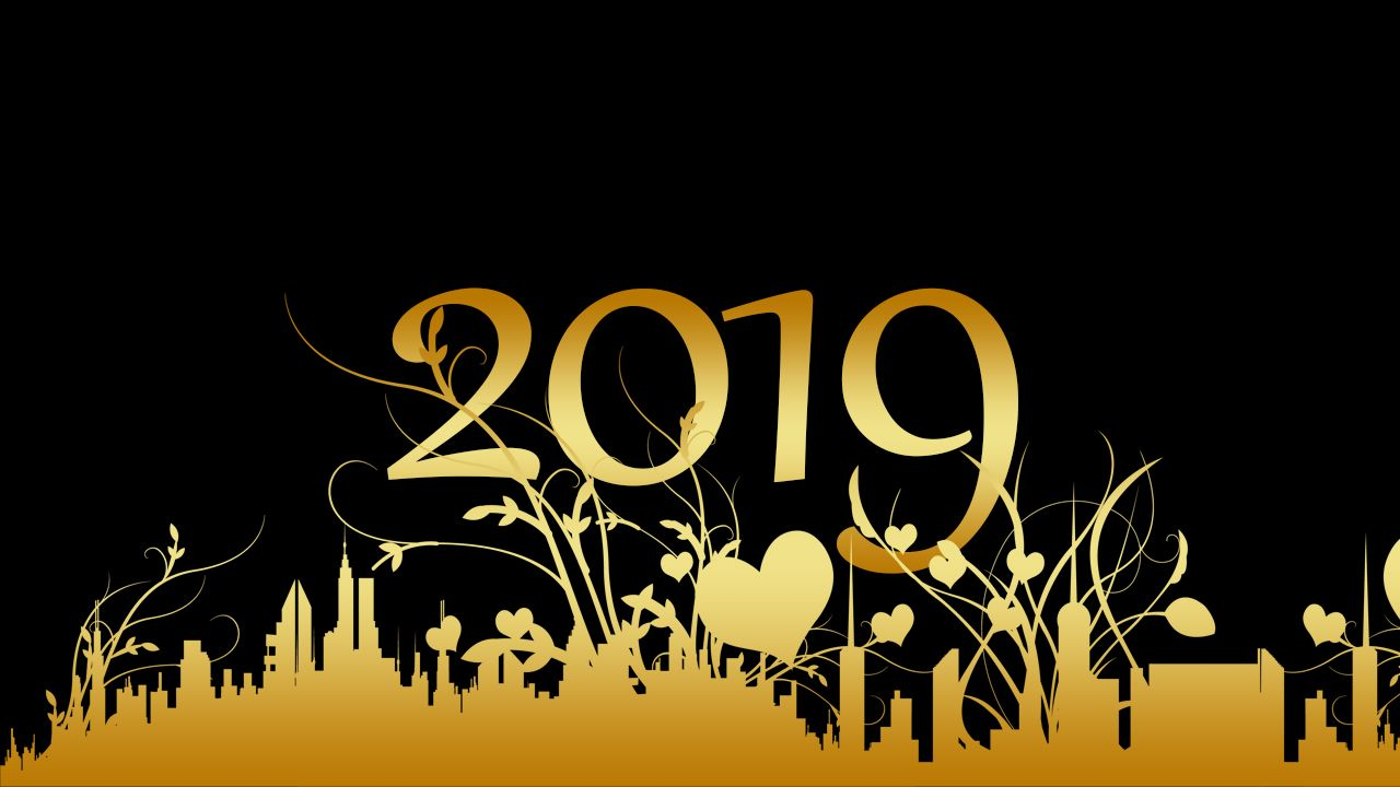 Happy New Year 2019 Animated Images