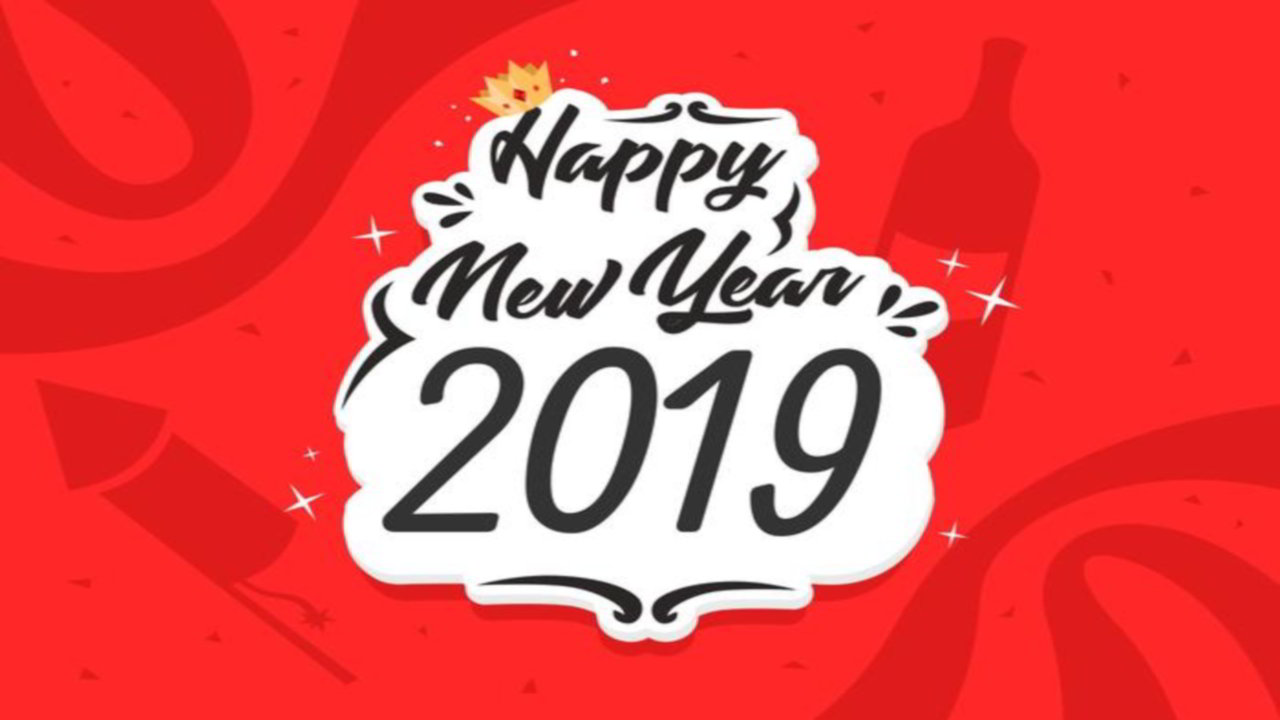 New Year Greetings: Happy New Year Greeting Cards 2019 • Talk in Now