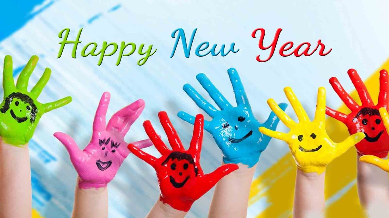 New Year Baby Images