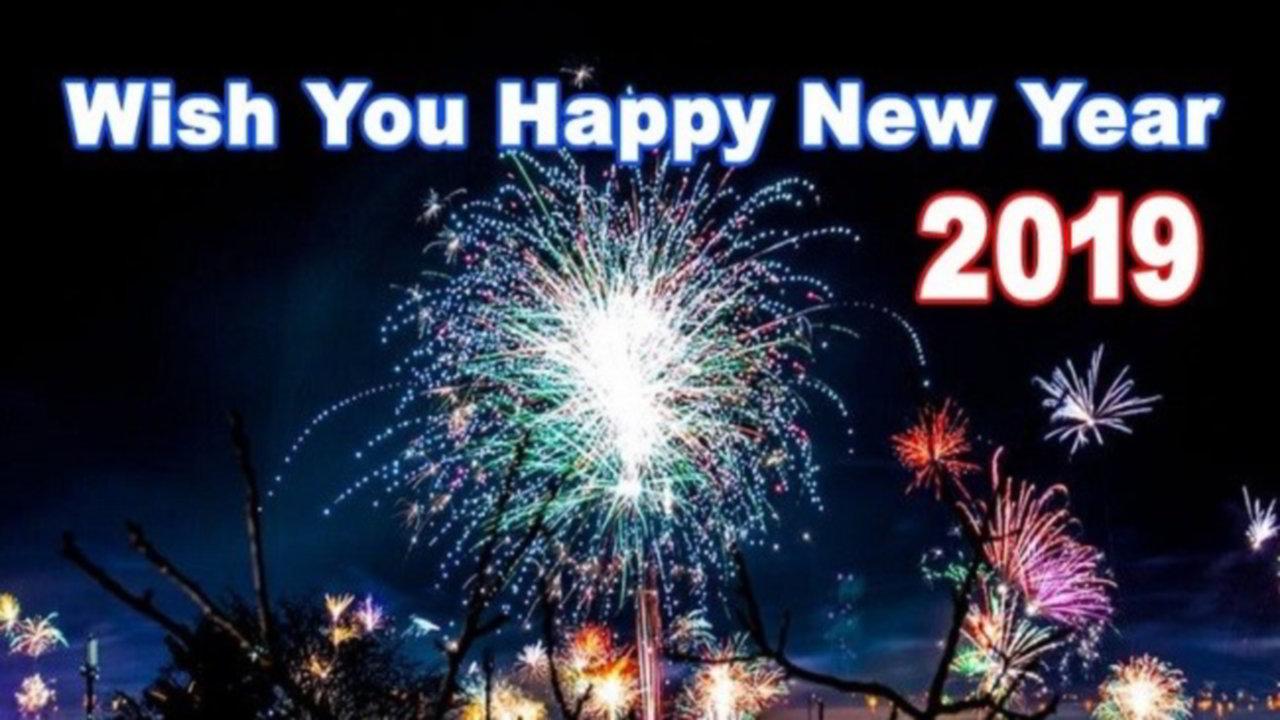 New Year Card Greetings