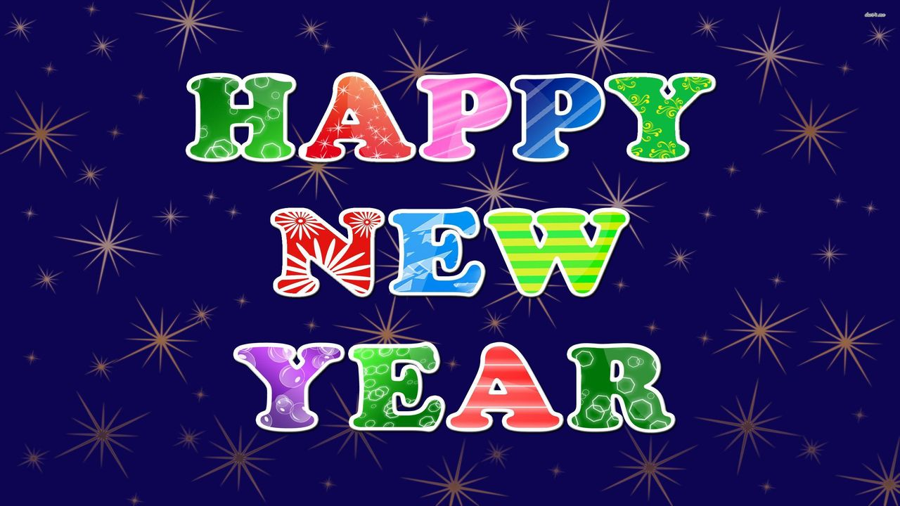 New Year Greeting Card Images