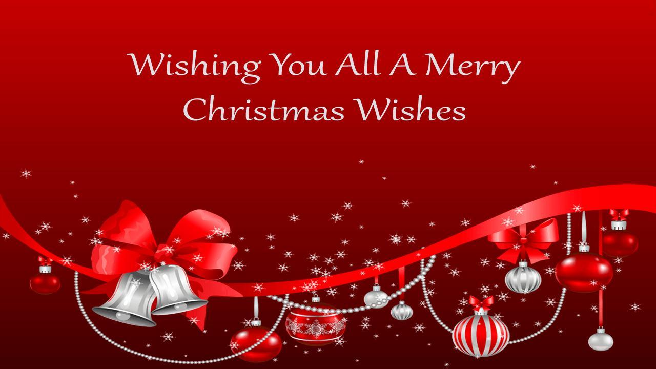 Sample Of Christmas Greetings