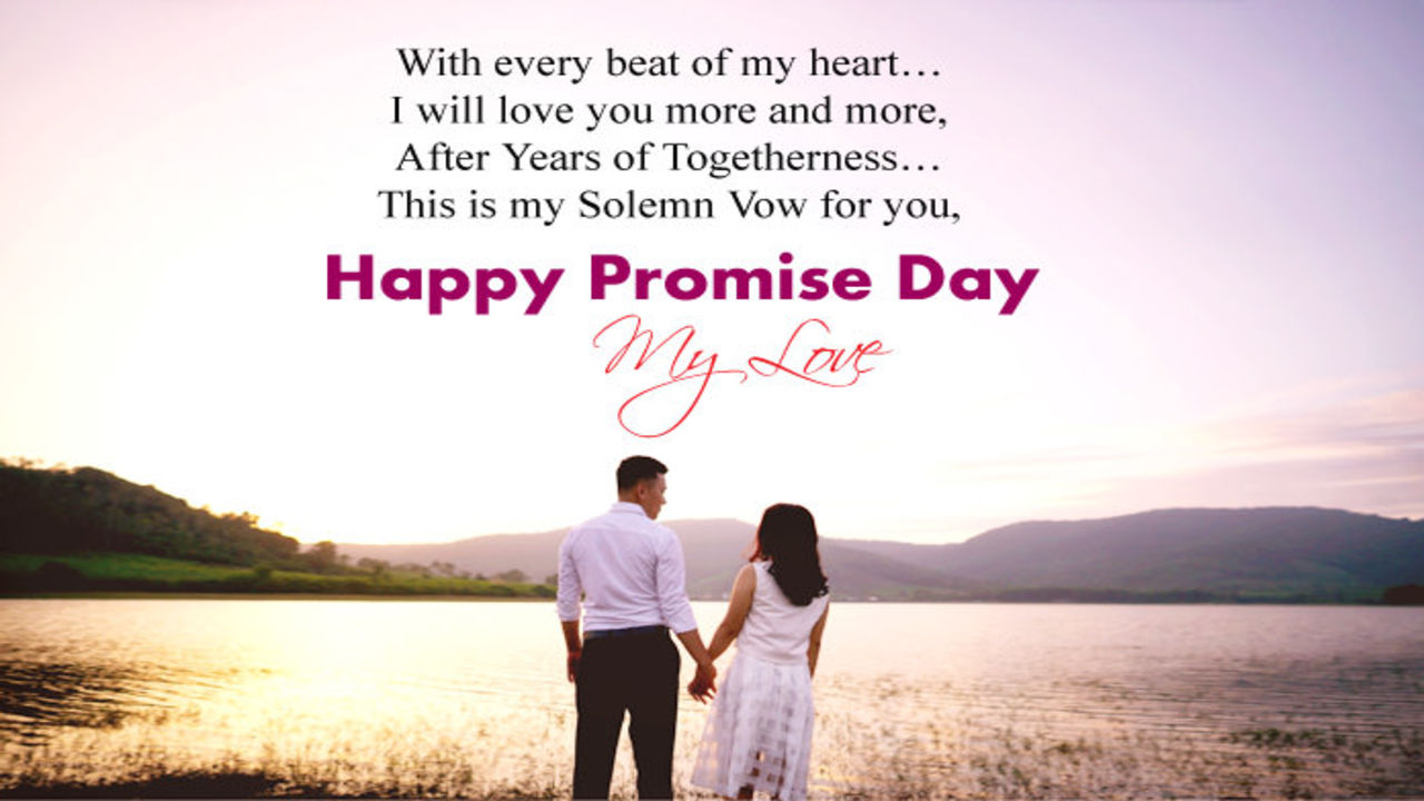 100 Happy Promise Day Quotes 2019 Talk In Now