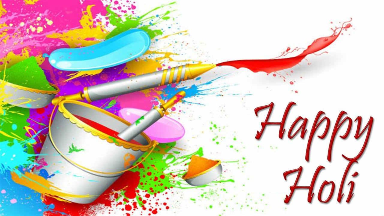 Happy Holi Wallpaper In Hd