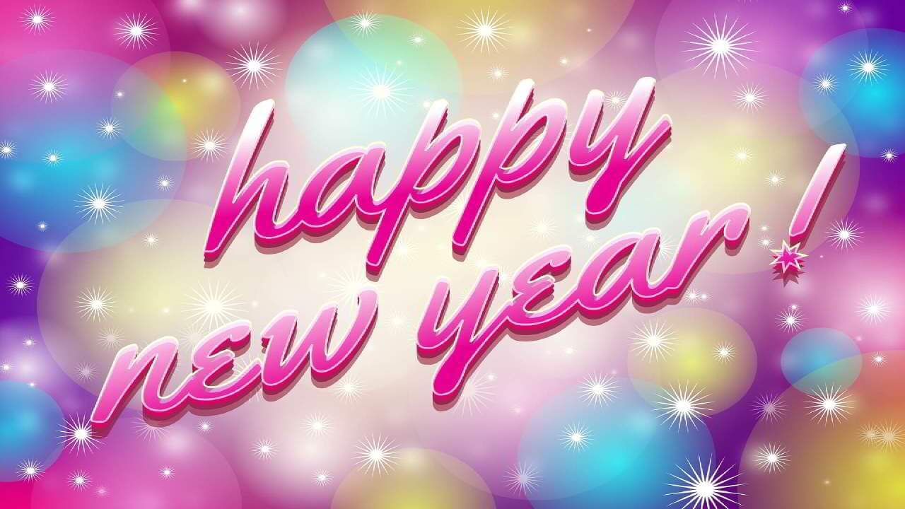 Happy New Year Card Wording
