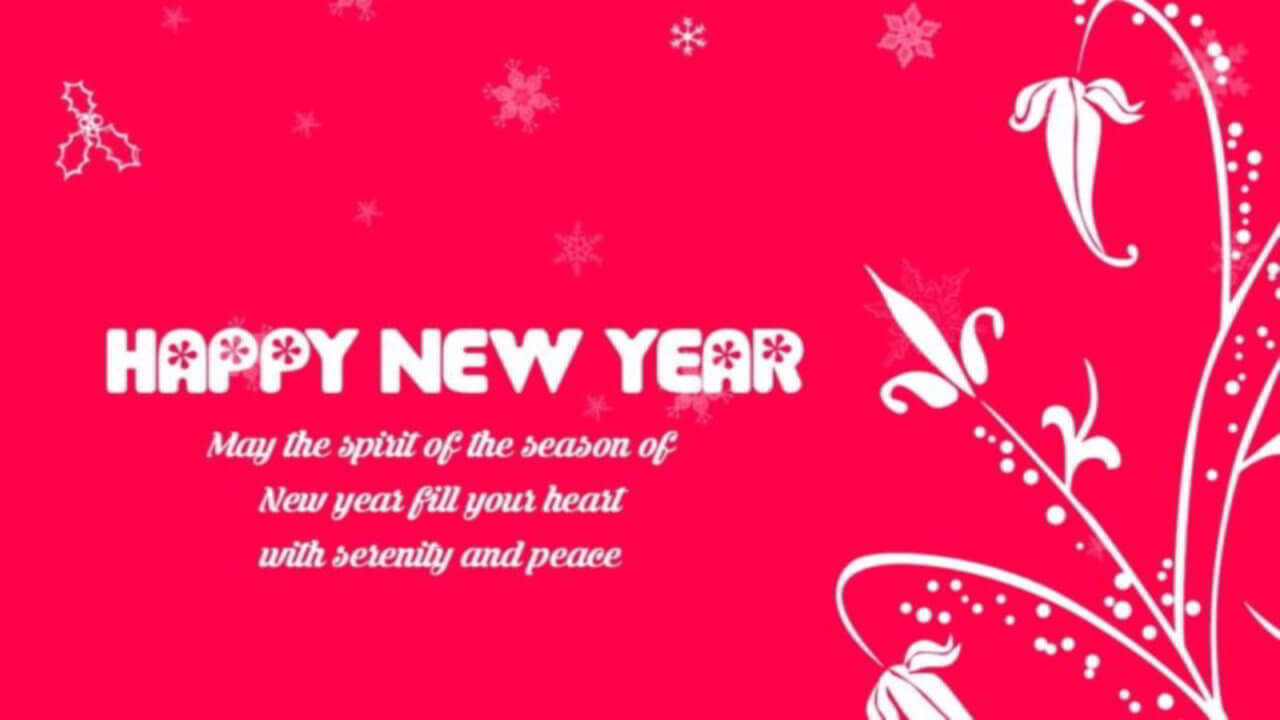 Happy New Year Cards Free