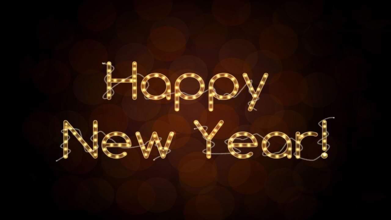 Happy New Year Gif Fireworks