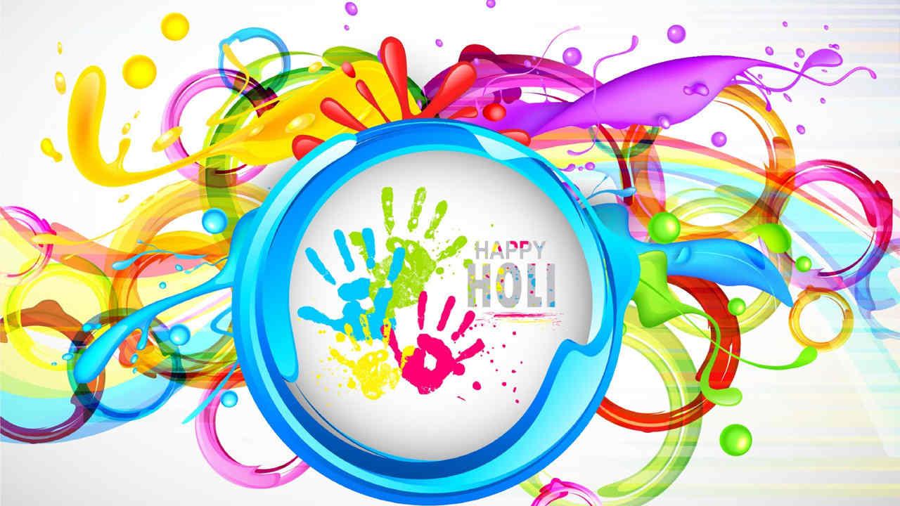 Hd Happy Holi Wallpaper