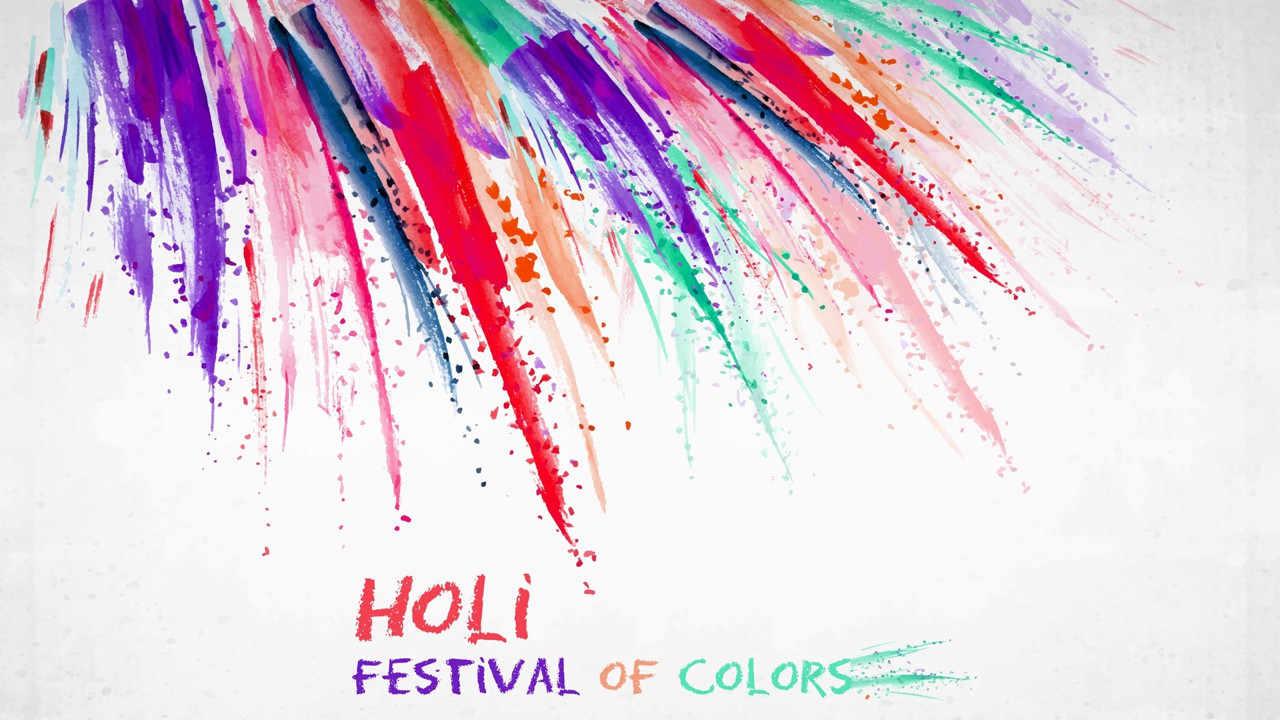 Holi Photos In