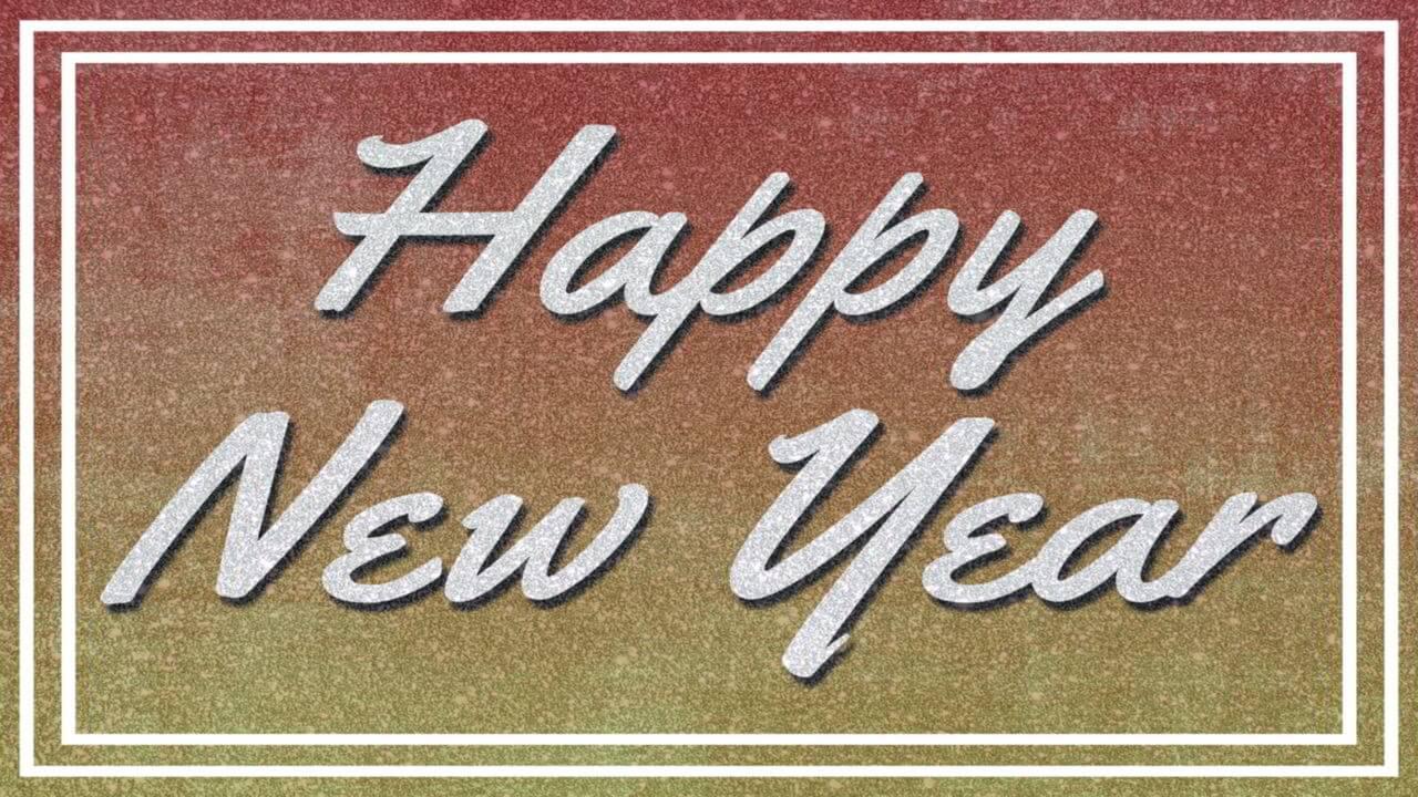 New Year Photo Card