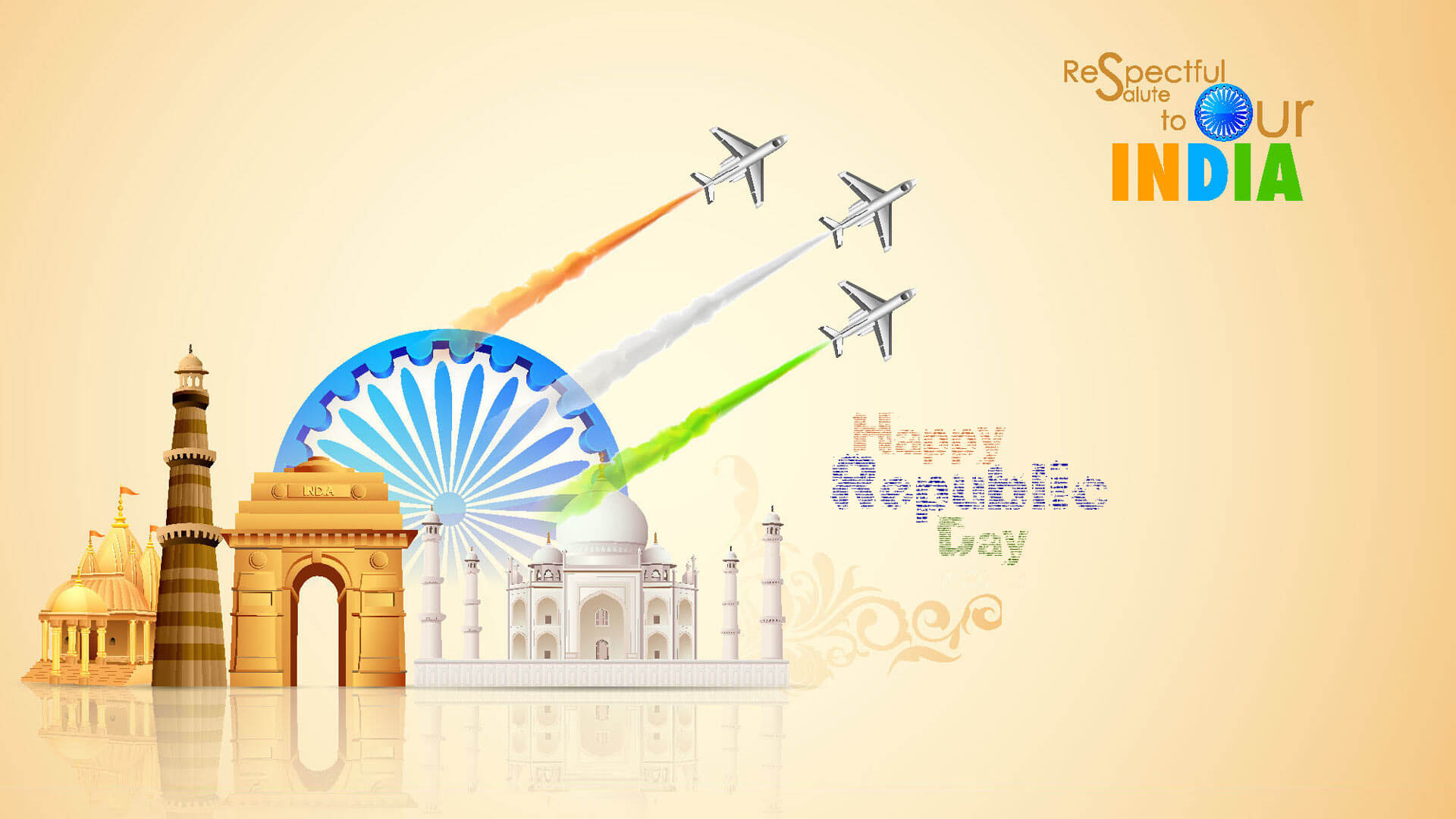 Wallpaper 26 January Republic Day